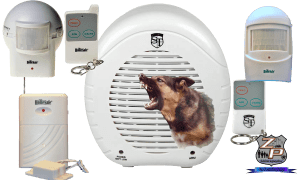 Barking Dog Alarm Package With Sensors And Remote Controls
