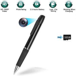 HD Pen Hidden Camera With Built In DVR Features