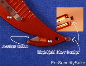 Rescue Knife Tool Seat Belt Cutter And Glass Breaker