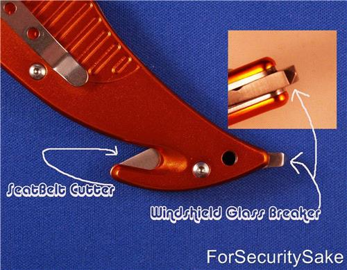 Rescue Knife Tool Seat Belt Cutter And Glass Breaker