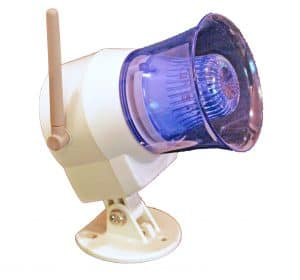 HomeSafe Wireless Siren Antenna Side