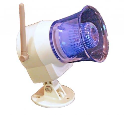 HomeSafe Wireless Siren Antenna Side