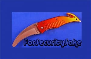 Rescue Knife Tool Open With ForSecuritySake