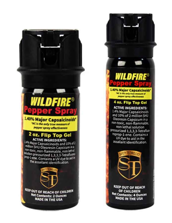 Wildfire 1.4% MC Flip Top 2 and 4 OZ Sizes