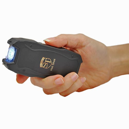 Hot Shot Stun Gun Front In Hand