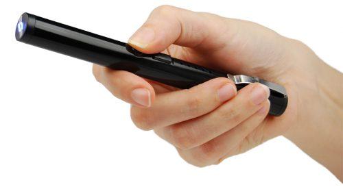 Stun Pen Black In Hand Arcing