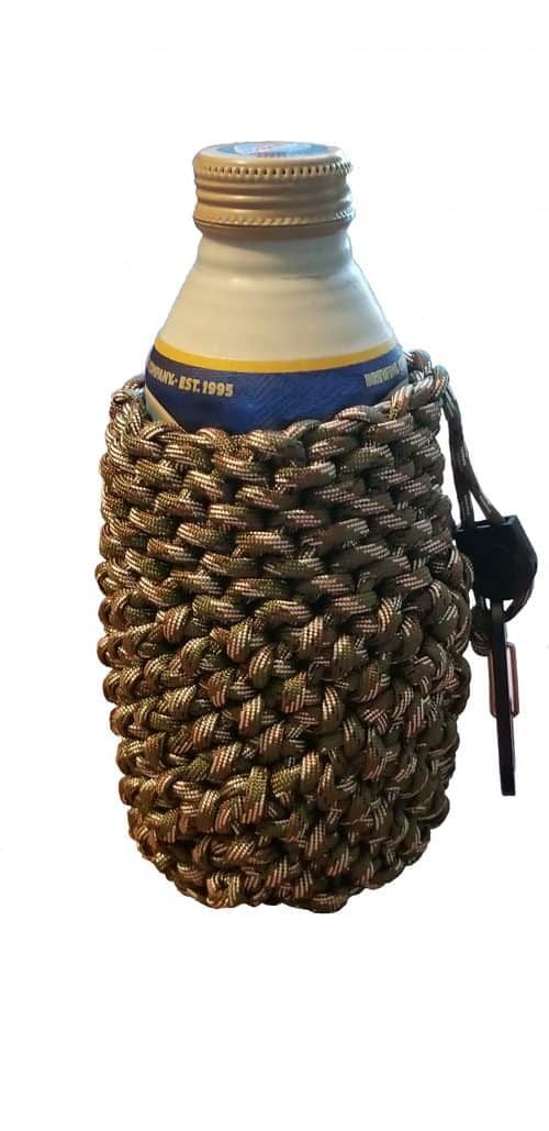 Para Cord Pouch With Drink Can