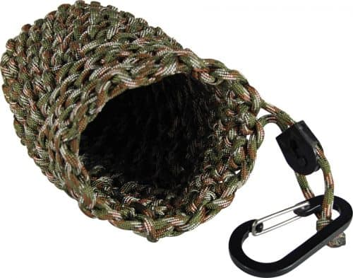 ParaCord Pouch On Side Open
