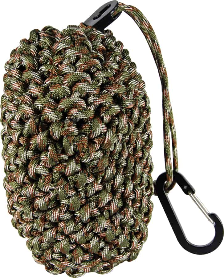 ParaCord Pouch Standing Drawn Closed
