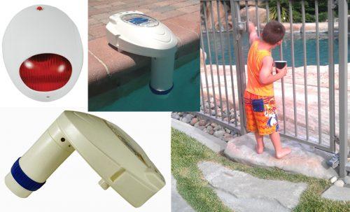 Boy And Pool Alarm