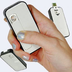 Electronic Lighter With Hidden Camera And DVR Group