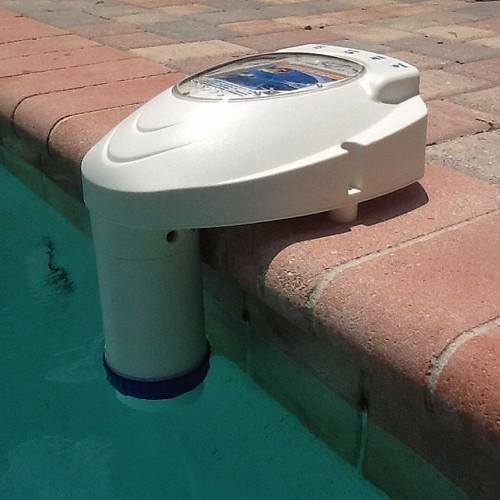 Pool Alarm In Pool Left Side