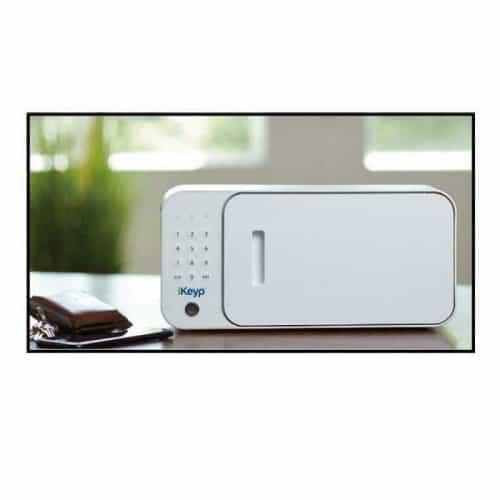 iKeyp-Smart-Medicine-Drug-Privacy-Storage-Safe-Portable-or-Bolt-Installation-On Counter