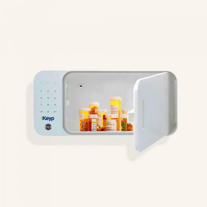 iKeyp-Smart-Medicine-Drug-Privacy-Storage-Safe-Portable-or-Bolt-Installation-Open