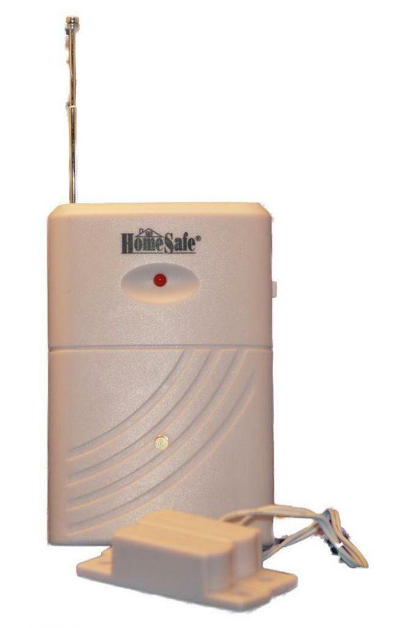 Door-Window-Vibration Sensor For Barking Dog Alarm and Wireless Siren Front