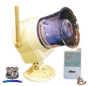 Wireless Out Door Siren Flashing Light And Remote Control